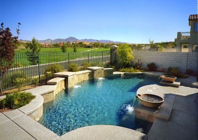 Modern pool designer in Scottsdale