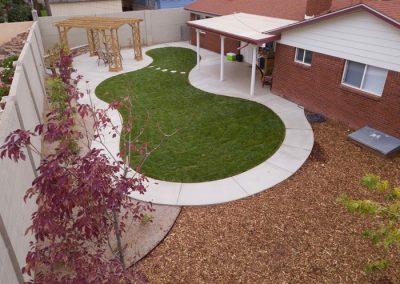 Scottsdale Backyard Landscapin