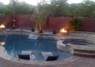 Scottsdale baja pool
