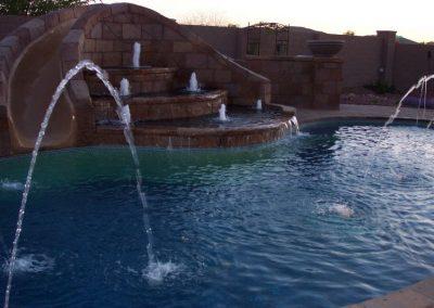 Scottsdale modern pool design