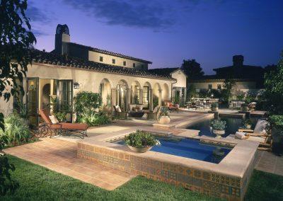 Scottsdale patio cabanas