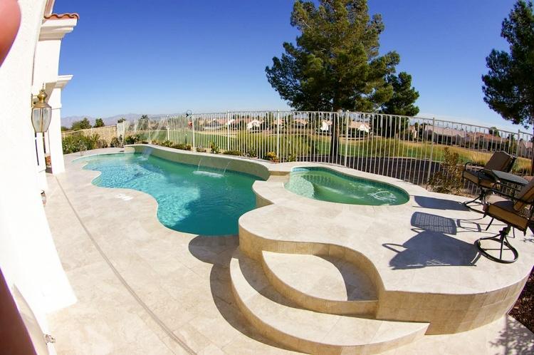 Scottsdale pool coping edges